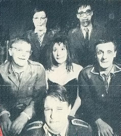 Cardiacs, looking... well pretty bloody scary actually...